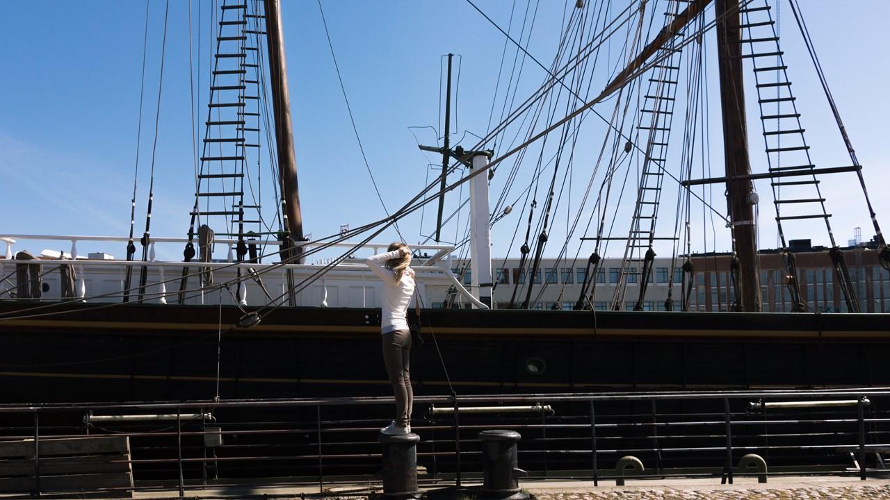 Корабль-музей Турку
