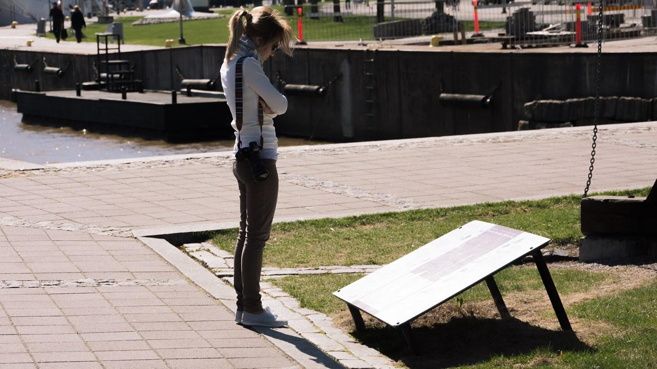 Читаю описание памятника на финском :)