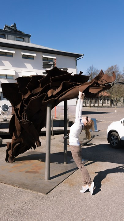 Необычный памятник в Турку