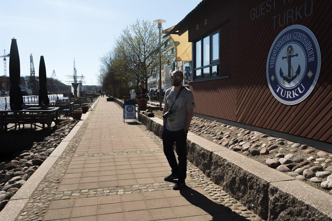 На набережной Турку