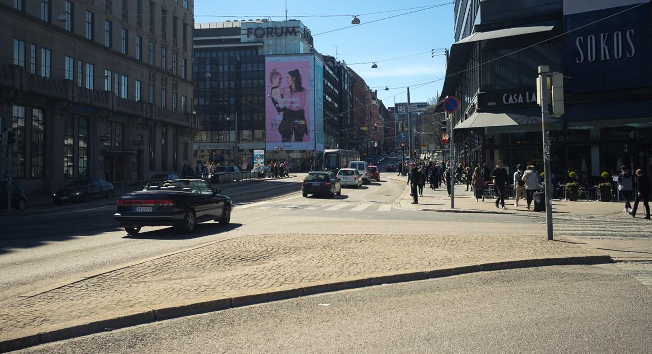 Финский магазин SOKOS в Хельсинки