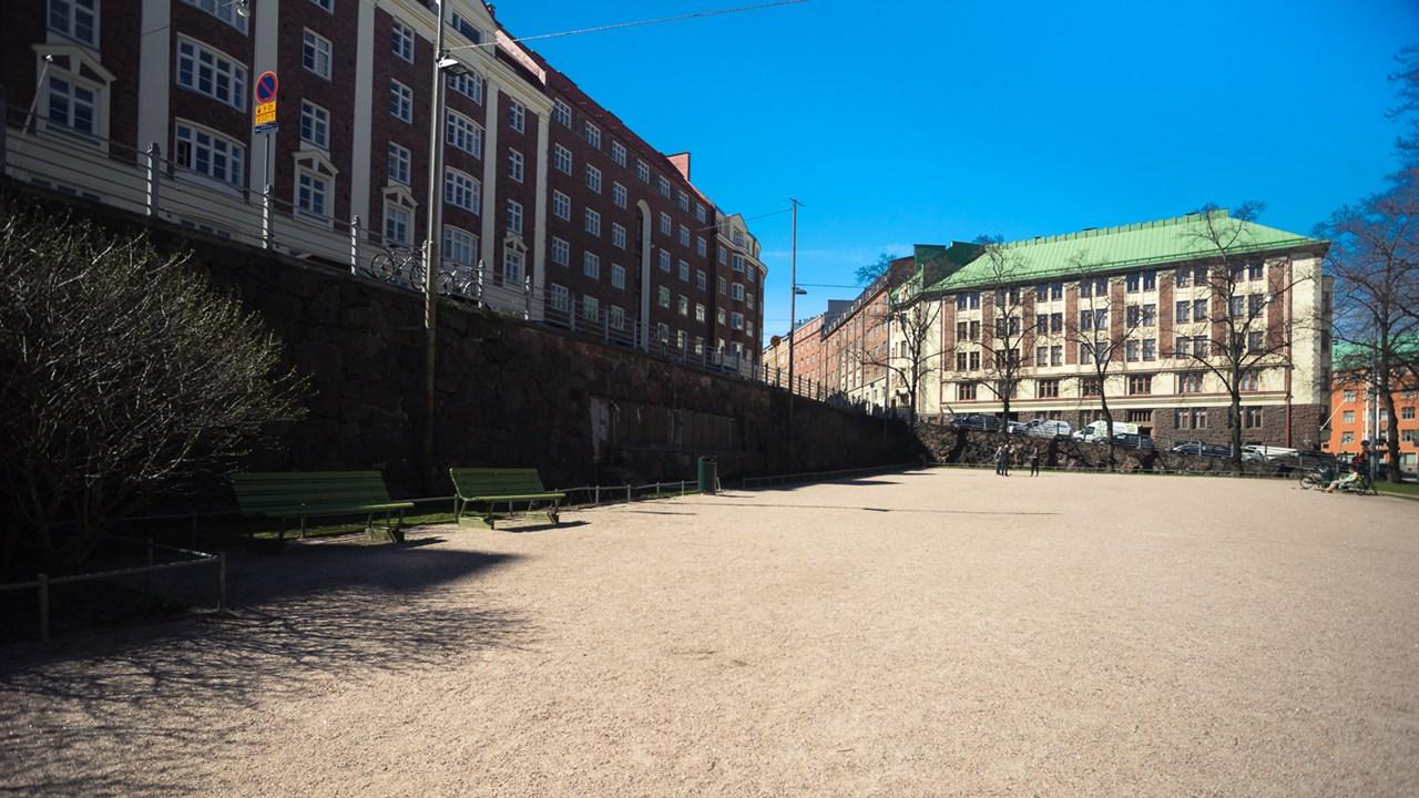 Заглянули в хельсинские дворики