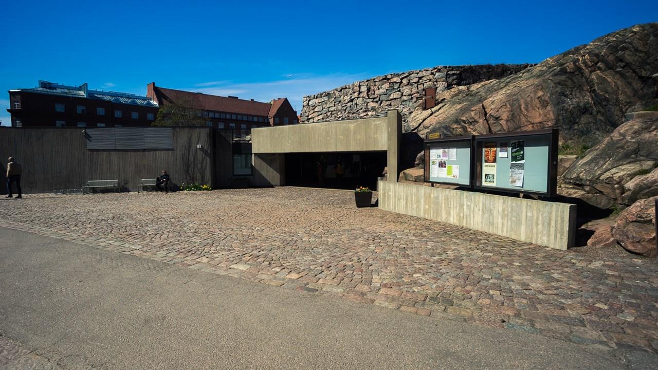 Церковь в скале Темппелиаукио