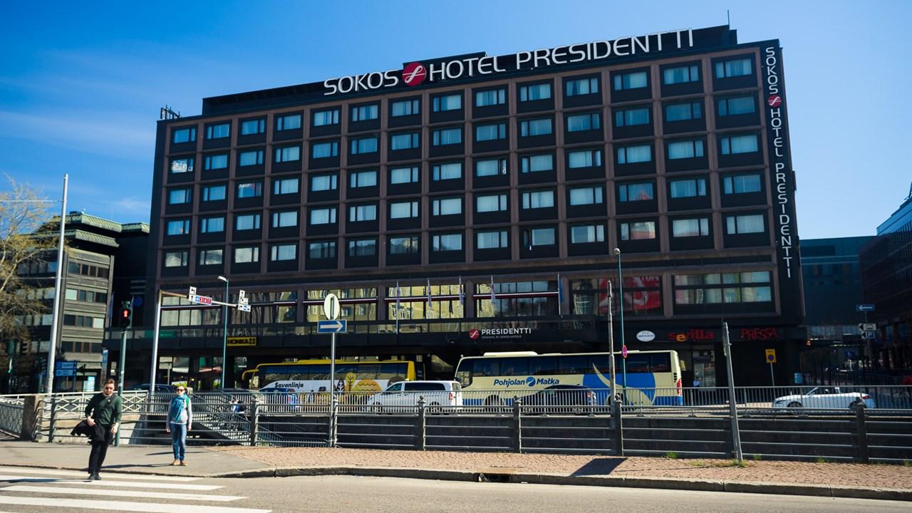 Отель SOKOS в центре Хельсинки