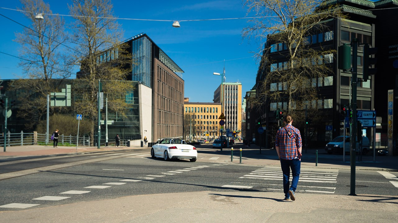 Красивые и современные здания в Хельсинки