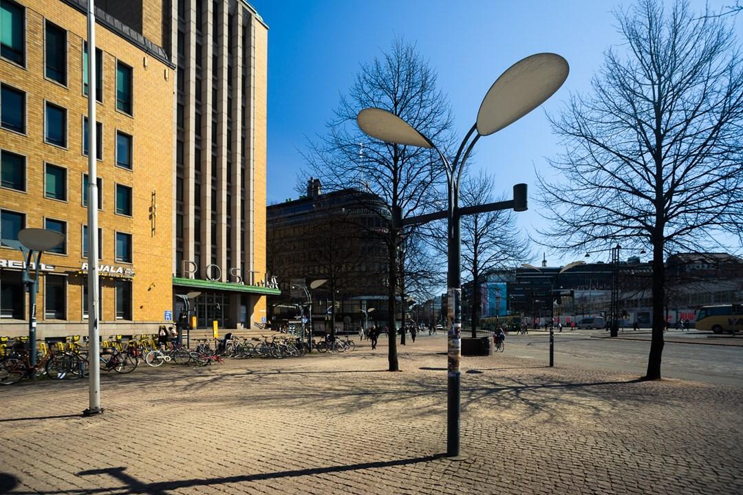 Заячьи фонари Хельсинки