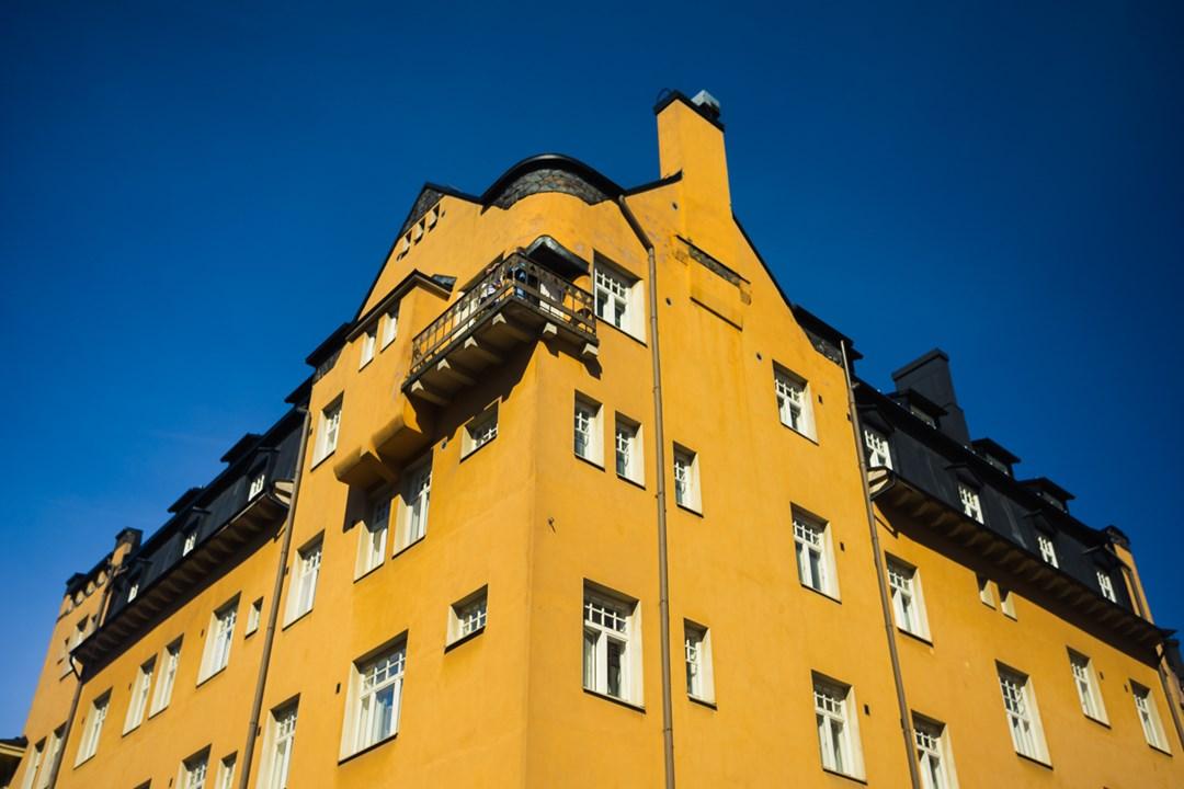 Только верхний этаж с с балконами