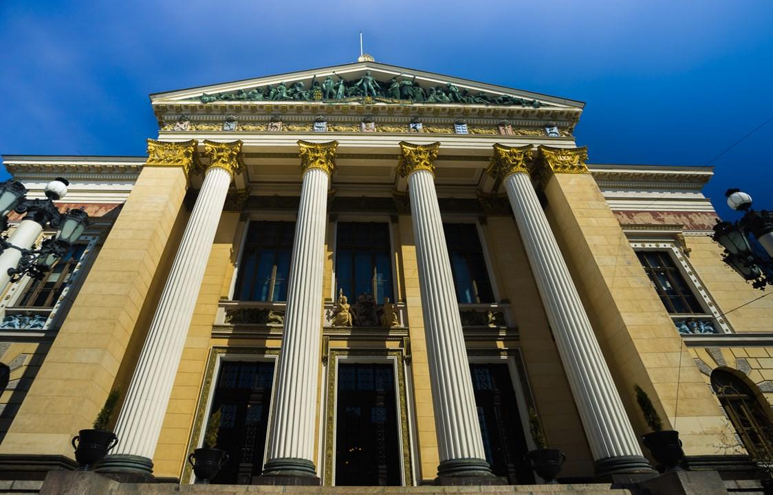 House of the Estates, где проводятся правительственные собрания Хельсинки