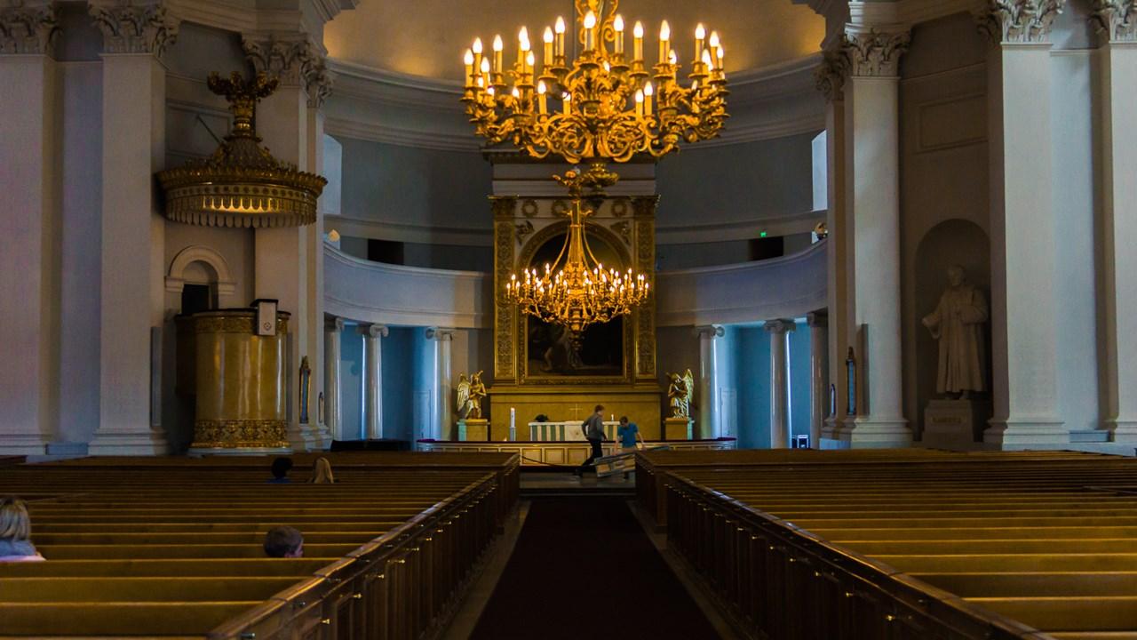 Внутри Собора Святого Николая