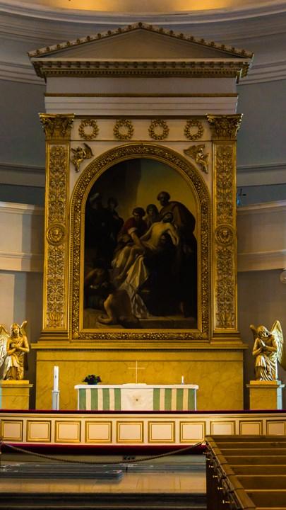 Икона внутри Собора Святого Николая