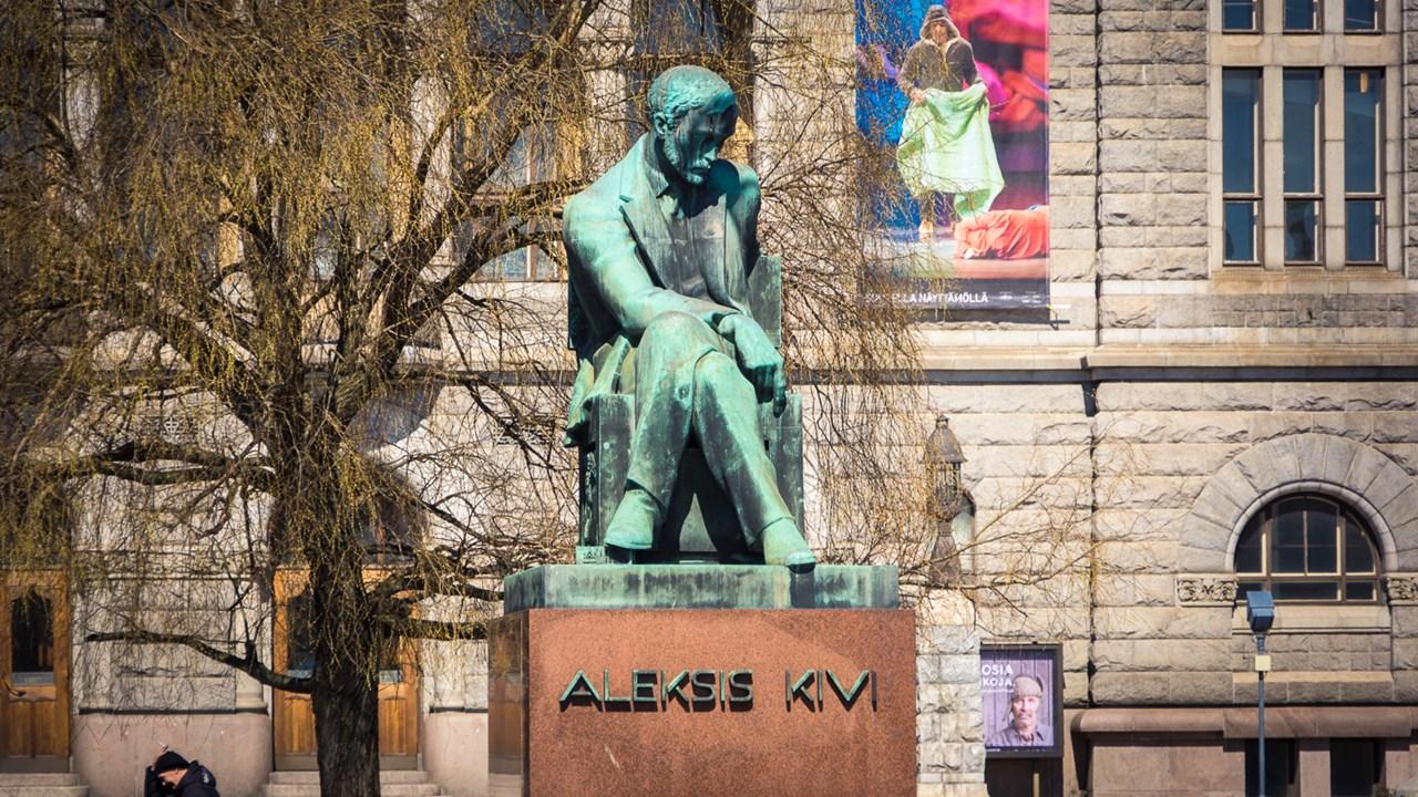 Памятник Алексису Киви в Хельсинки
