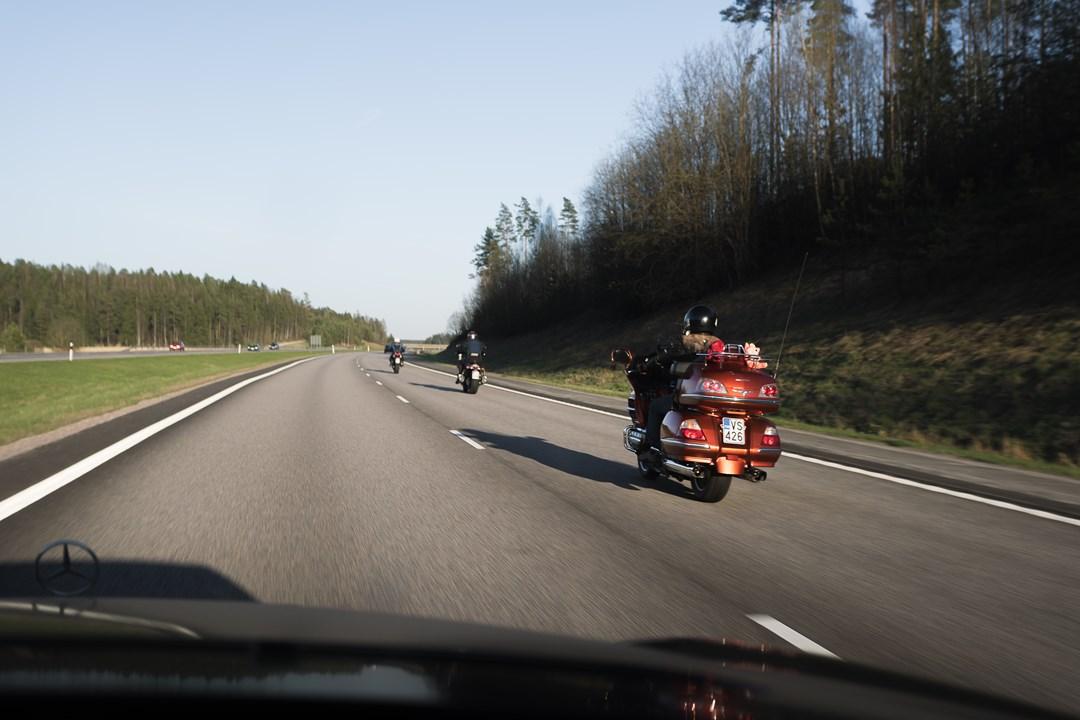 Скоростной режим в Финляндии