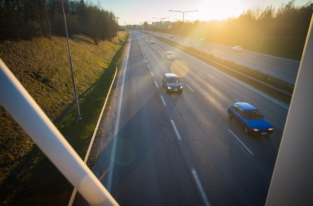 Передвигаться по дорогам Финляндии - одно удовольствие