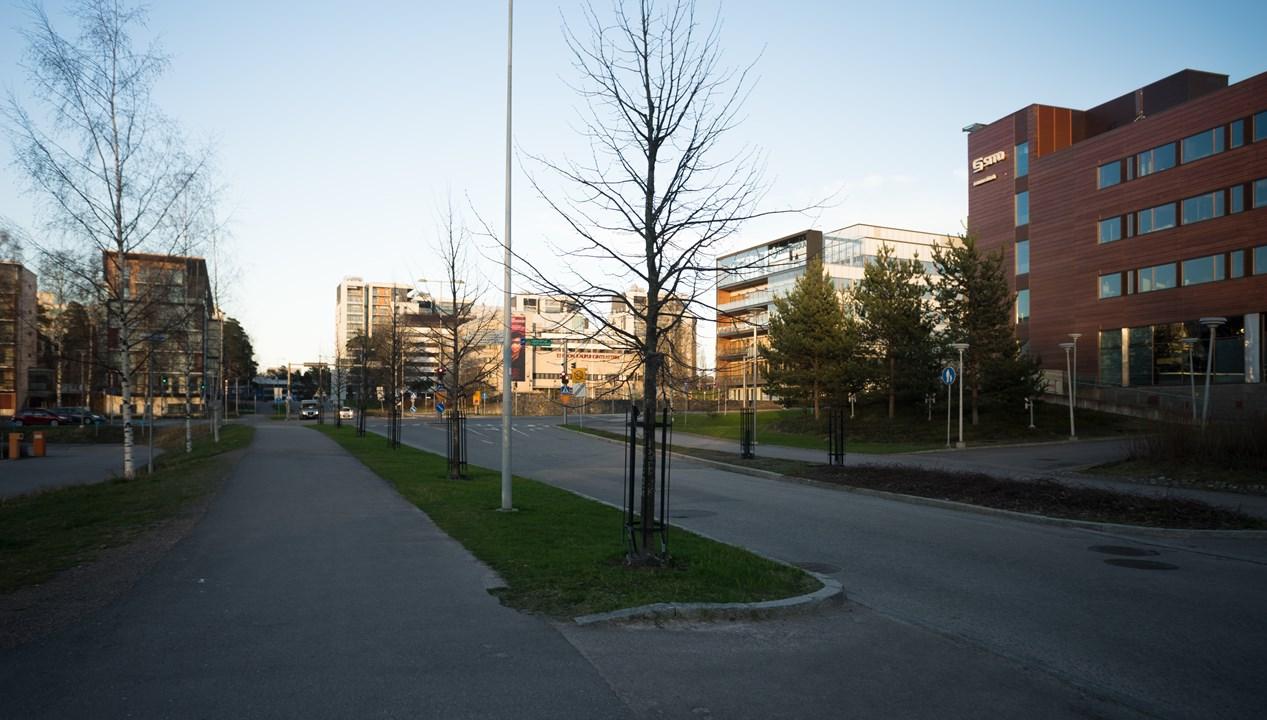 Город Эспоо является современным и стремительно развивающимся местом