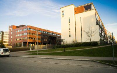 Современный город Эспоо рядом с Хельсинки