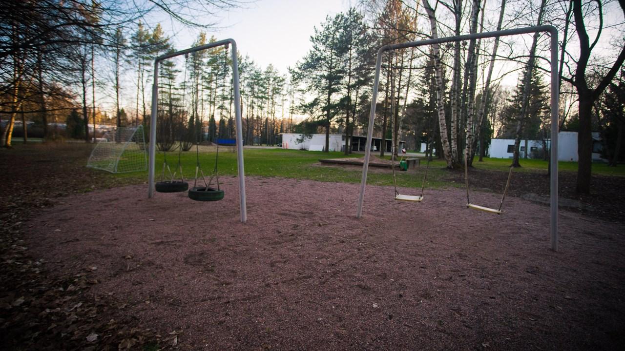 Детская площадка в районе Suvikumpu