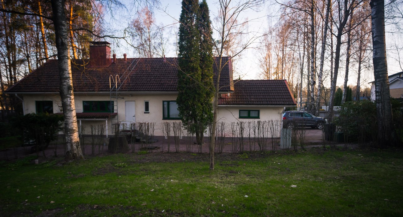 Жилой дом в городе Эспоо в Финляндии