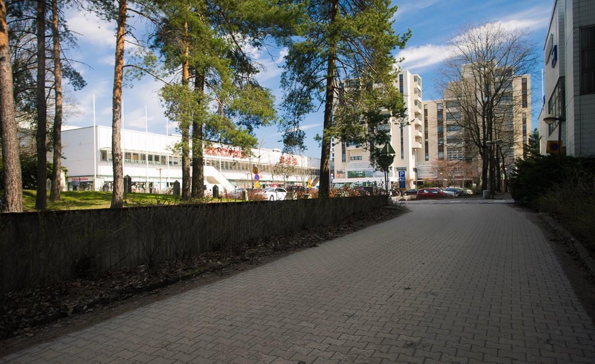 Торговый центрHeikintori в Эспоо