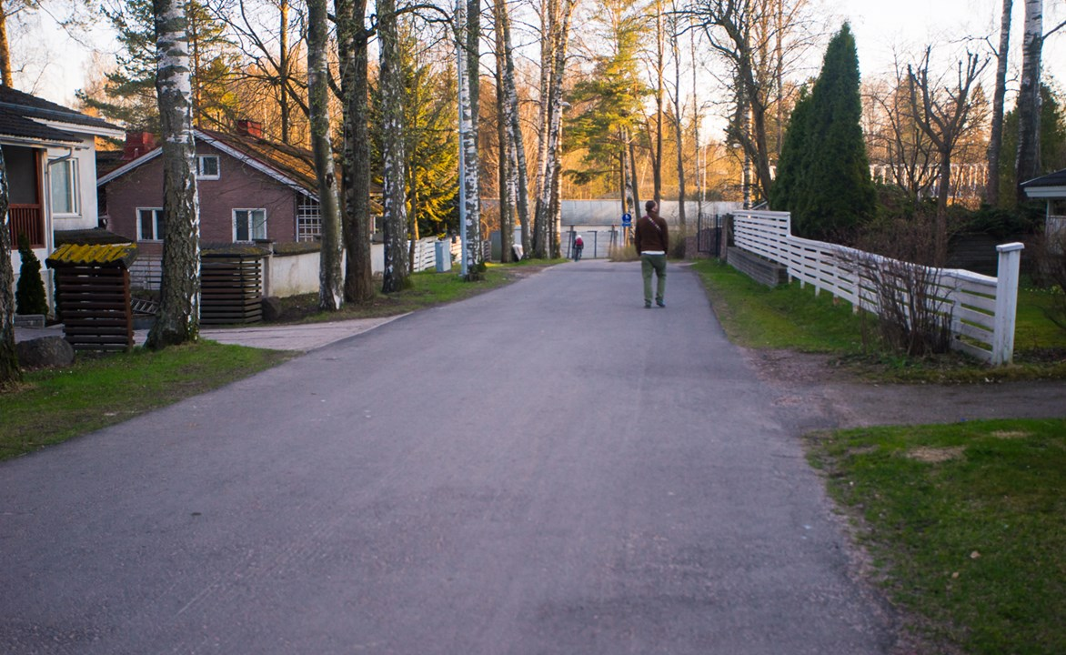 Прогуливаемся по району Suvikumpu