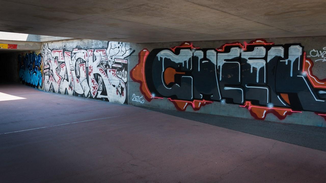 Граффити в переходе Эспоо
