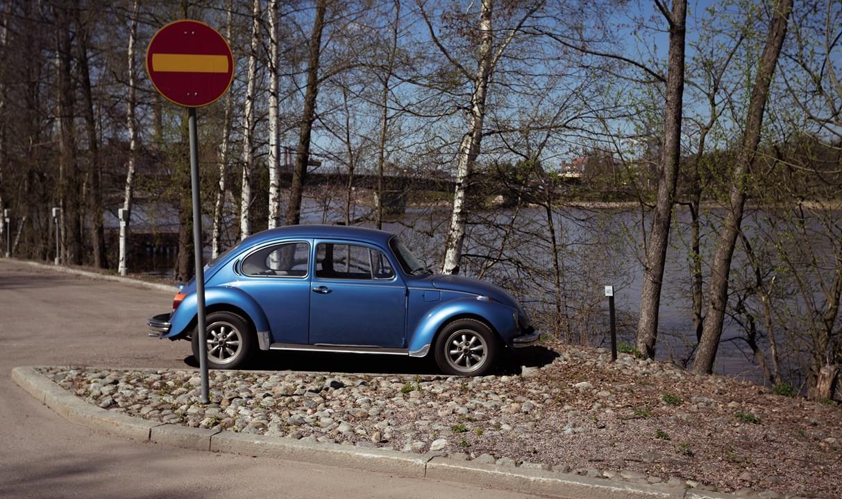 Парковка в Финляндии