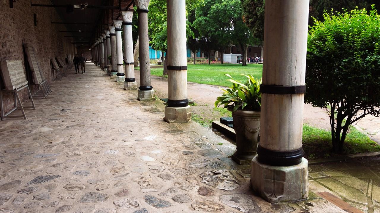 Проход к кухням дворца Топкапы