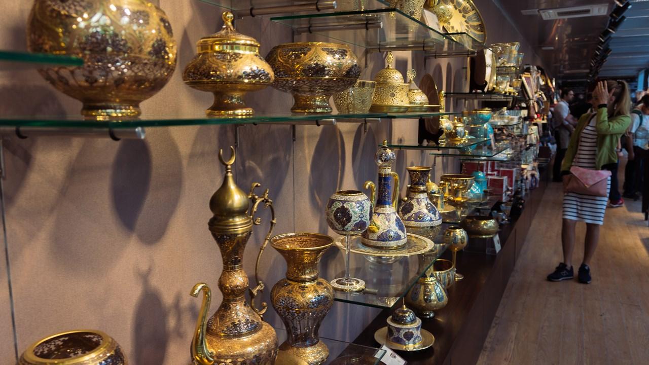 Магазин сувениров и подарков во дворце Топкапы