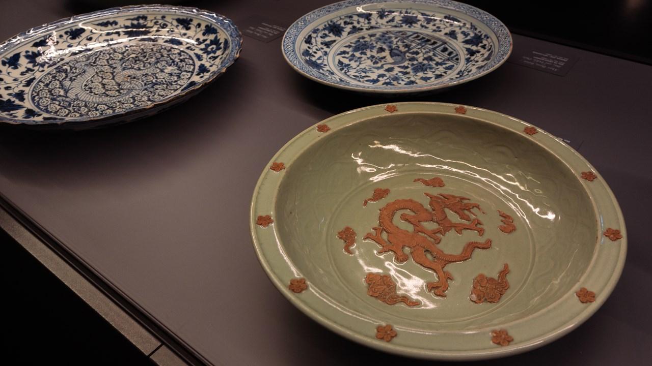 Ещё одни тарелки в Топкапы