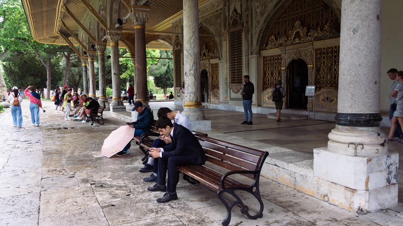 Всего во дворце Топкапы хранится 65 тыс. экспонатов