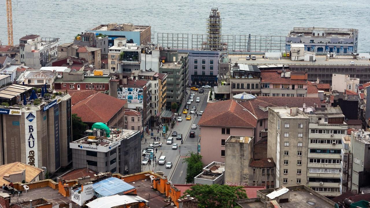 Часть набережной Стамбула