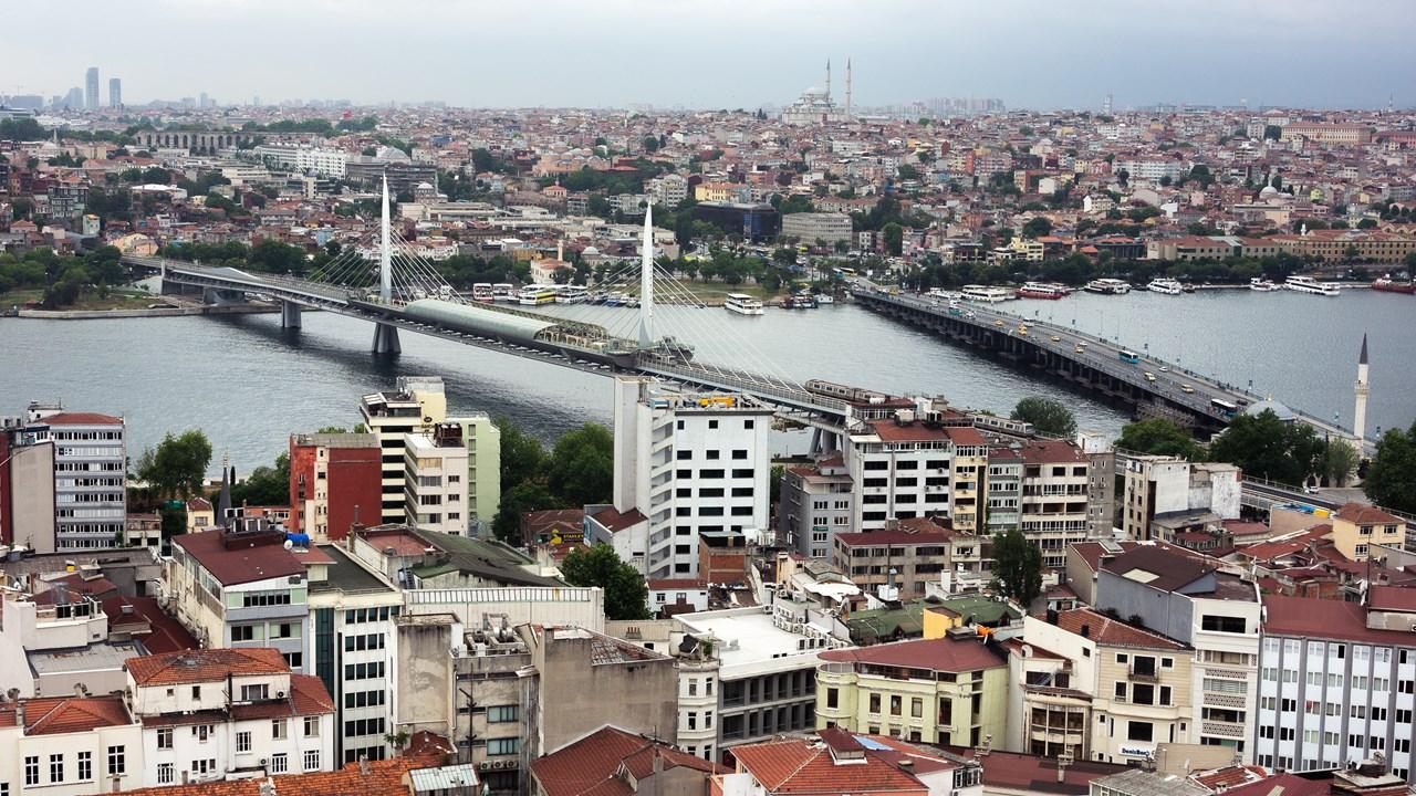 Мост Золотой Рог и мост Ататюрка