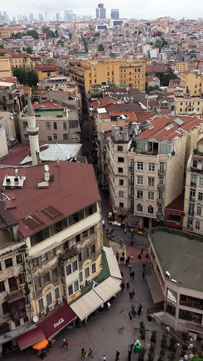 Улочки Стамбула с Галатской башни