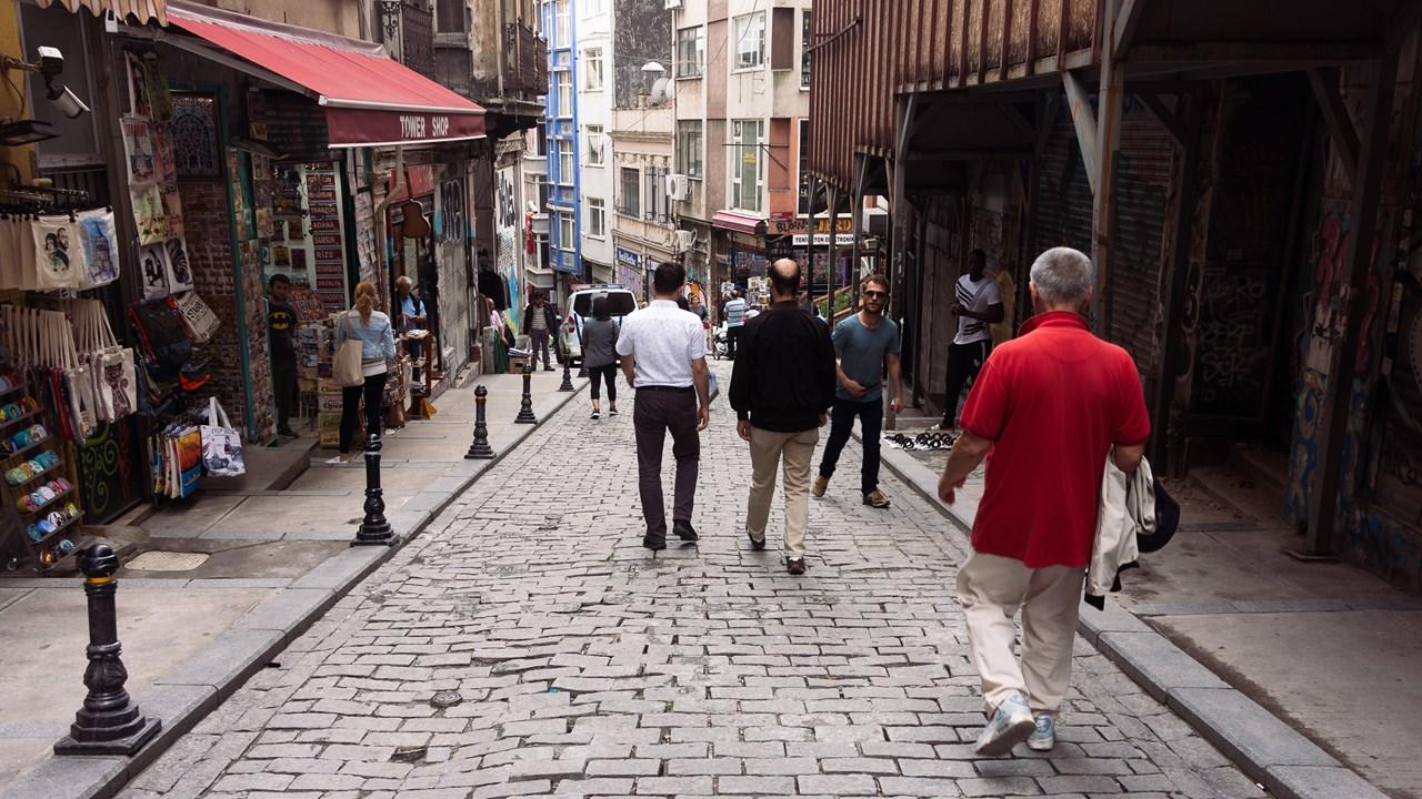 В Турции много улиц под уклоном
