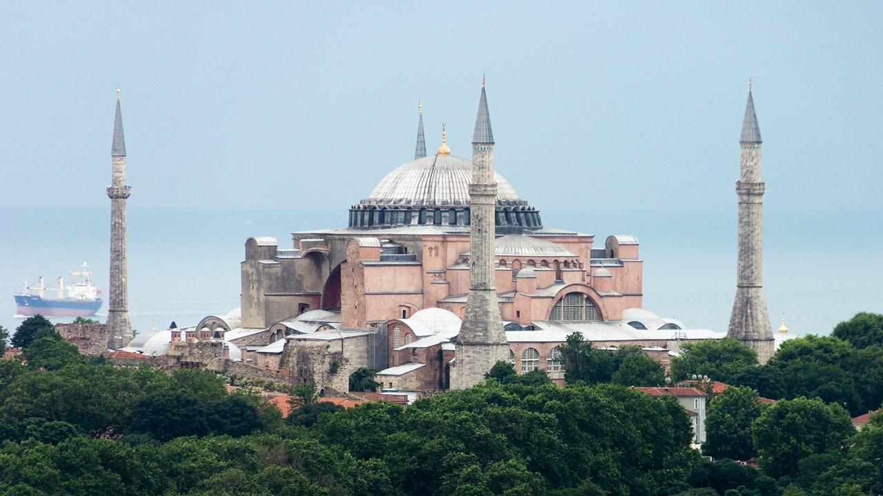 Собор Святой Софии с Галатской башни