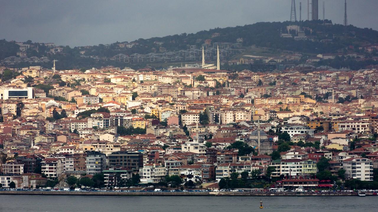 Вид на Стамбул с Галатской башни