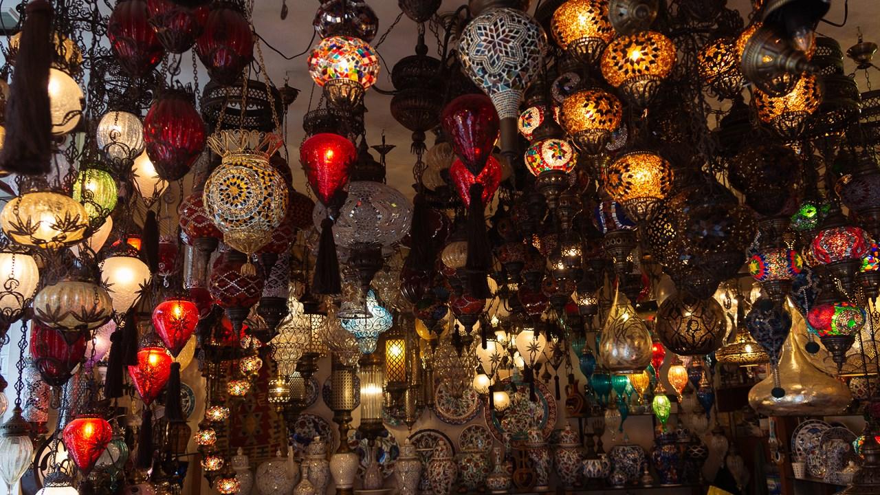 Традиционные турецкие лампы